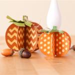 Cricut 3D Pumpkins