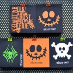 Cricut Halloween Treat Bags
